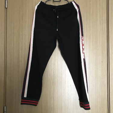 Gucci Technical Jersey Joggers Black
