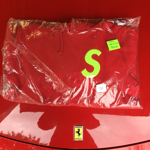 Supreme S Logo Hooded Sweatshirt (Fw19)