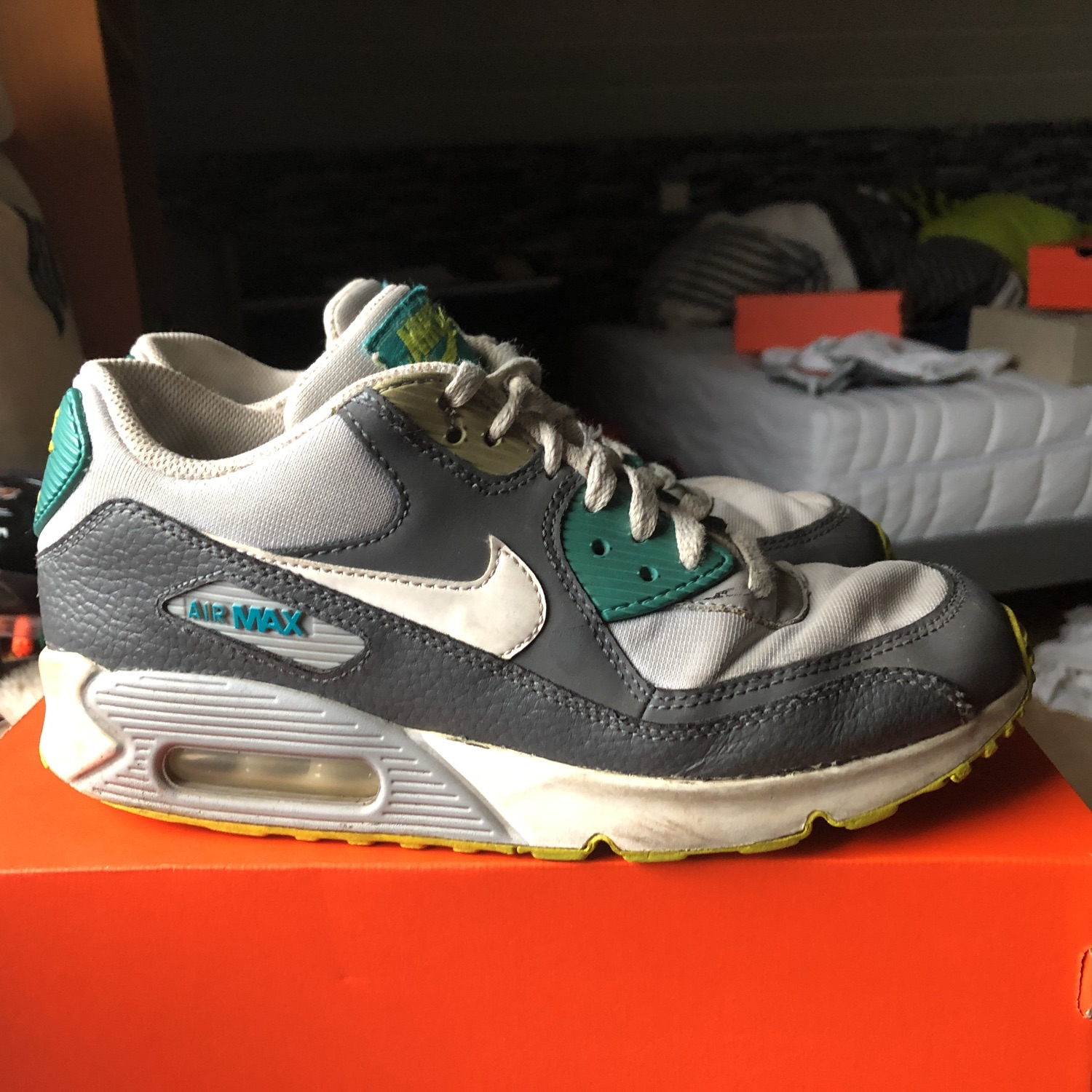release date 2d9a7 0bec2 Nike Air Max 90. €25.00. US 6.5