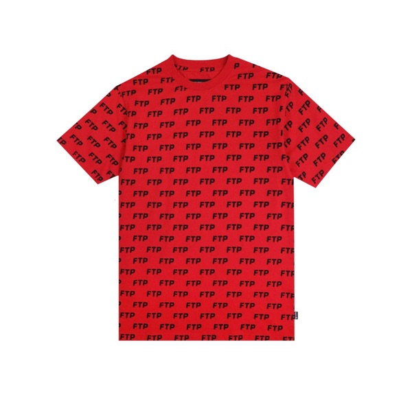 Ftp Allover Tee Red Ss20