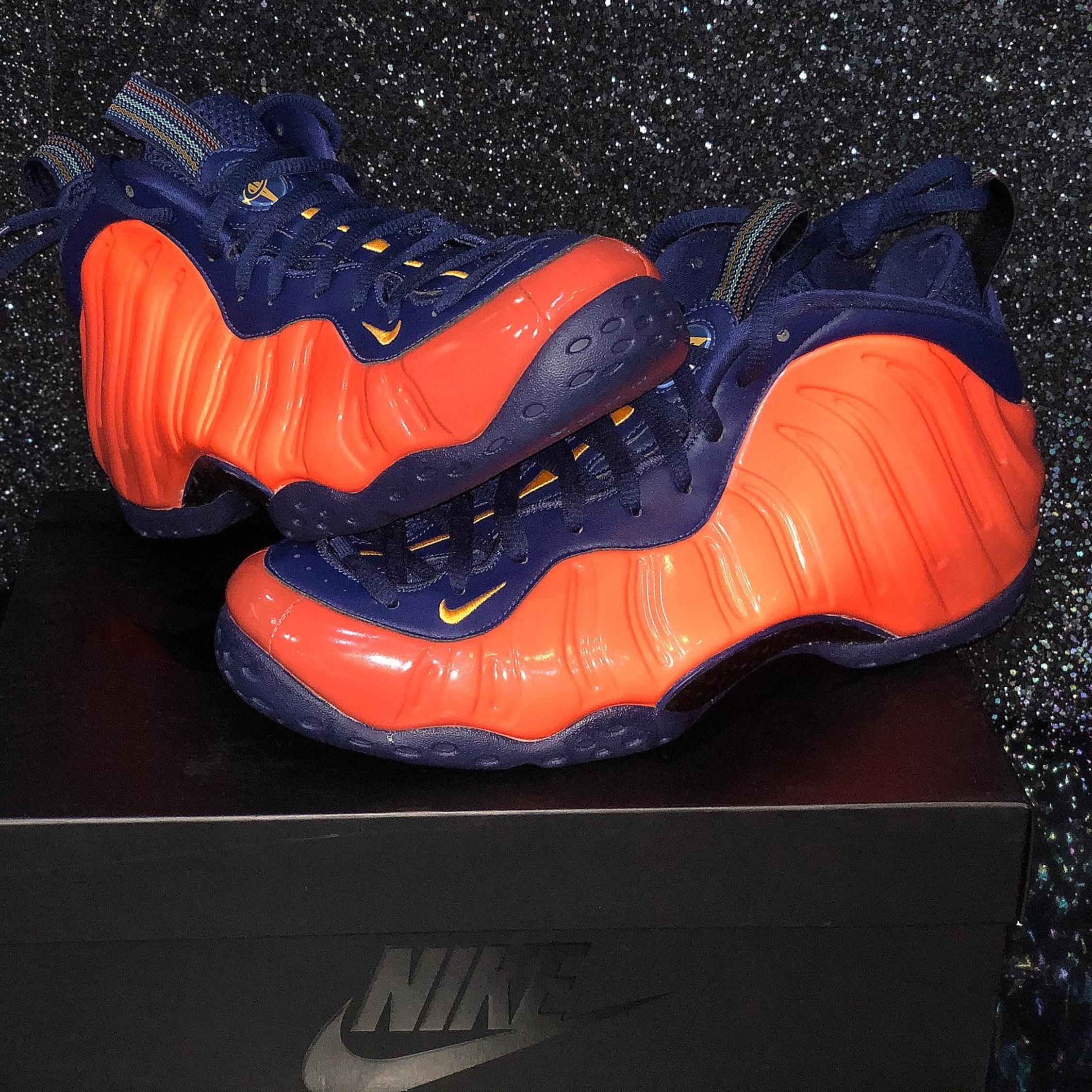 Buy Nike AIR Foamposite ONE PRM Blue Mirror ...Amazon.in