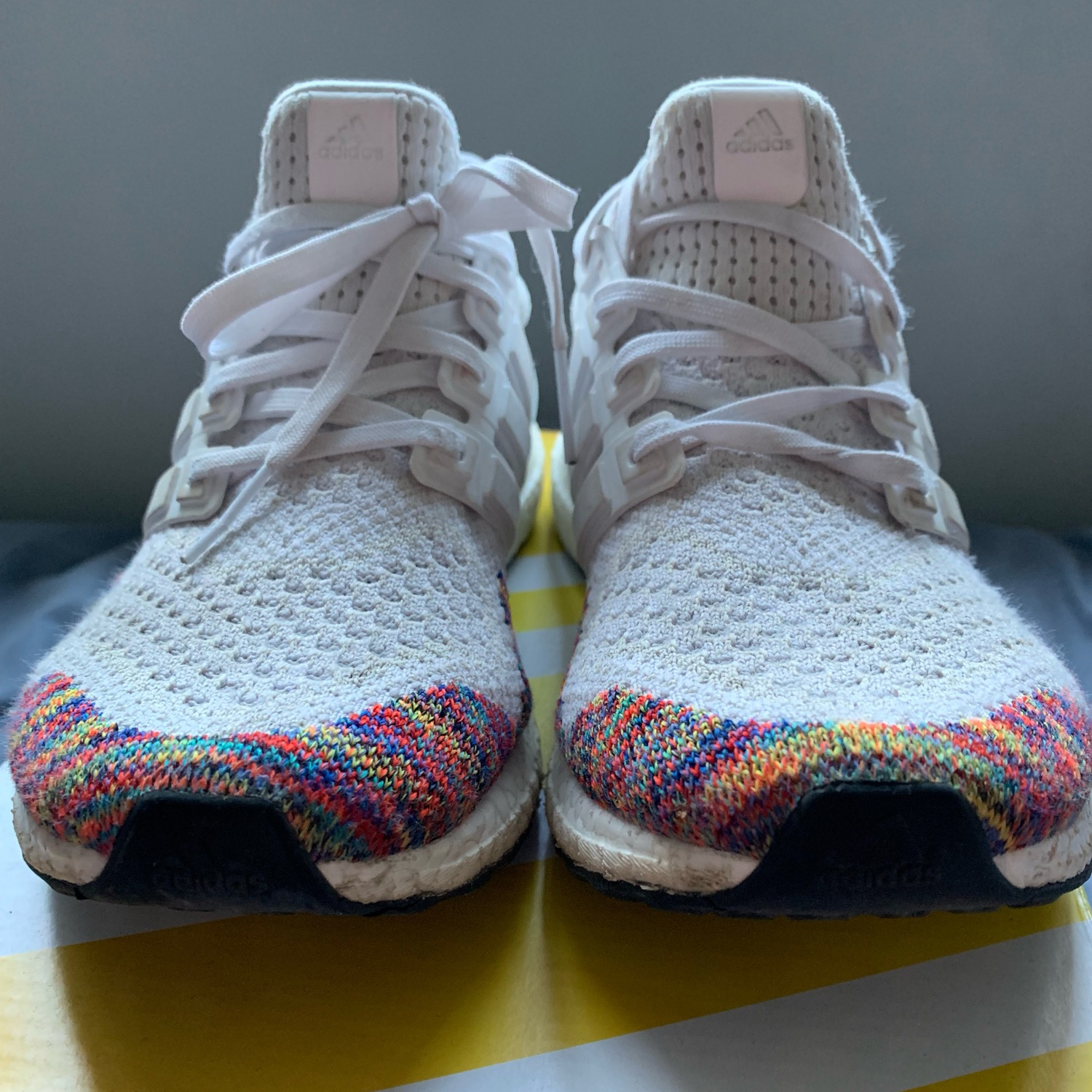 "ADIDAS ULTRA BOOST MID ""MULTI COLOR"" $110.00 