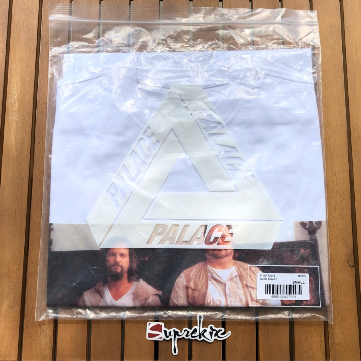 Palace Autumn Dude T-Shirt White Small