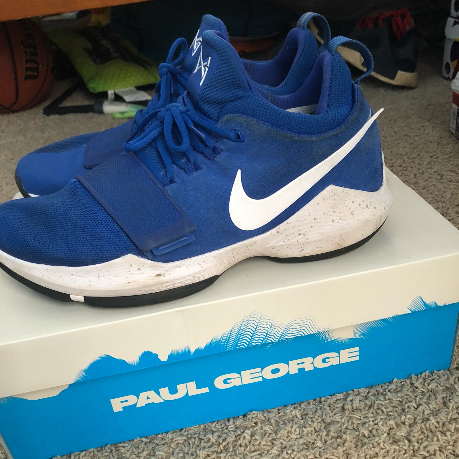 classic fit d30f4 9e44e Paul George 1 Nike
