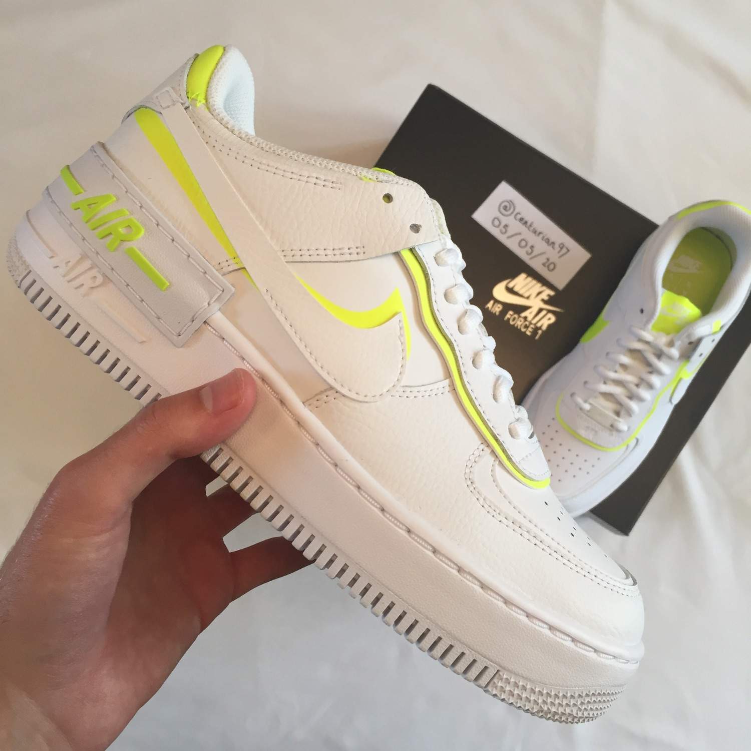 Nike Air Force 1 Shadow Women S Sneaker White