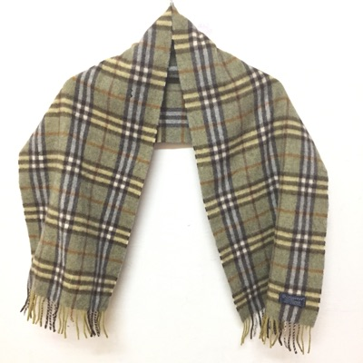 Burberrys Scarf Novacheck Made In England