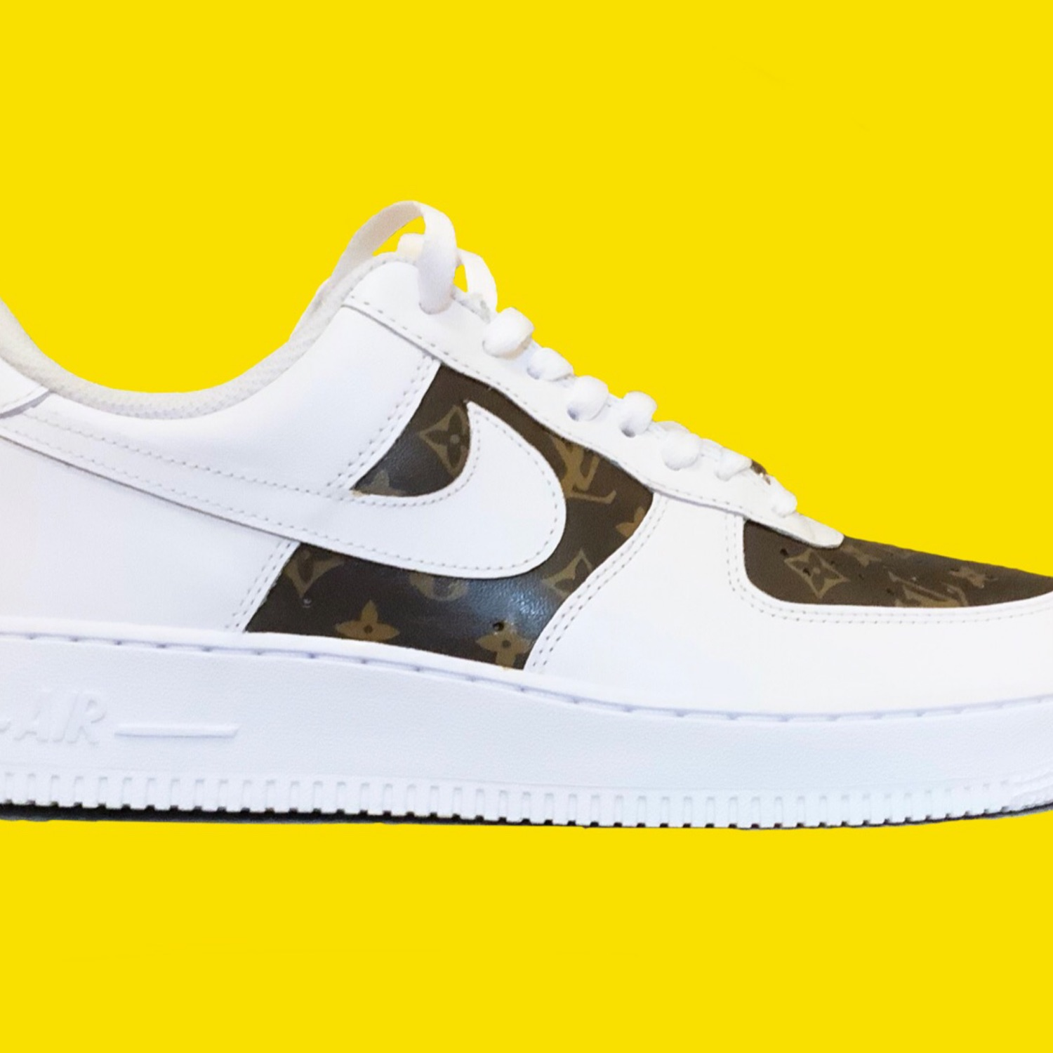 the latest fddad 0bac2 Nike Air Force 1 Louis Vuitton Custom *Any Size*