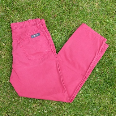 Men's Stone Island Marina Red/Pink Trousers Size 48