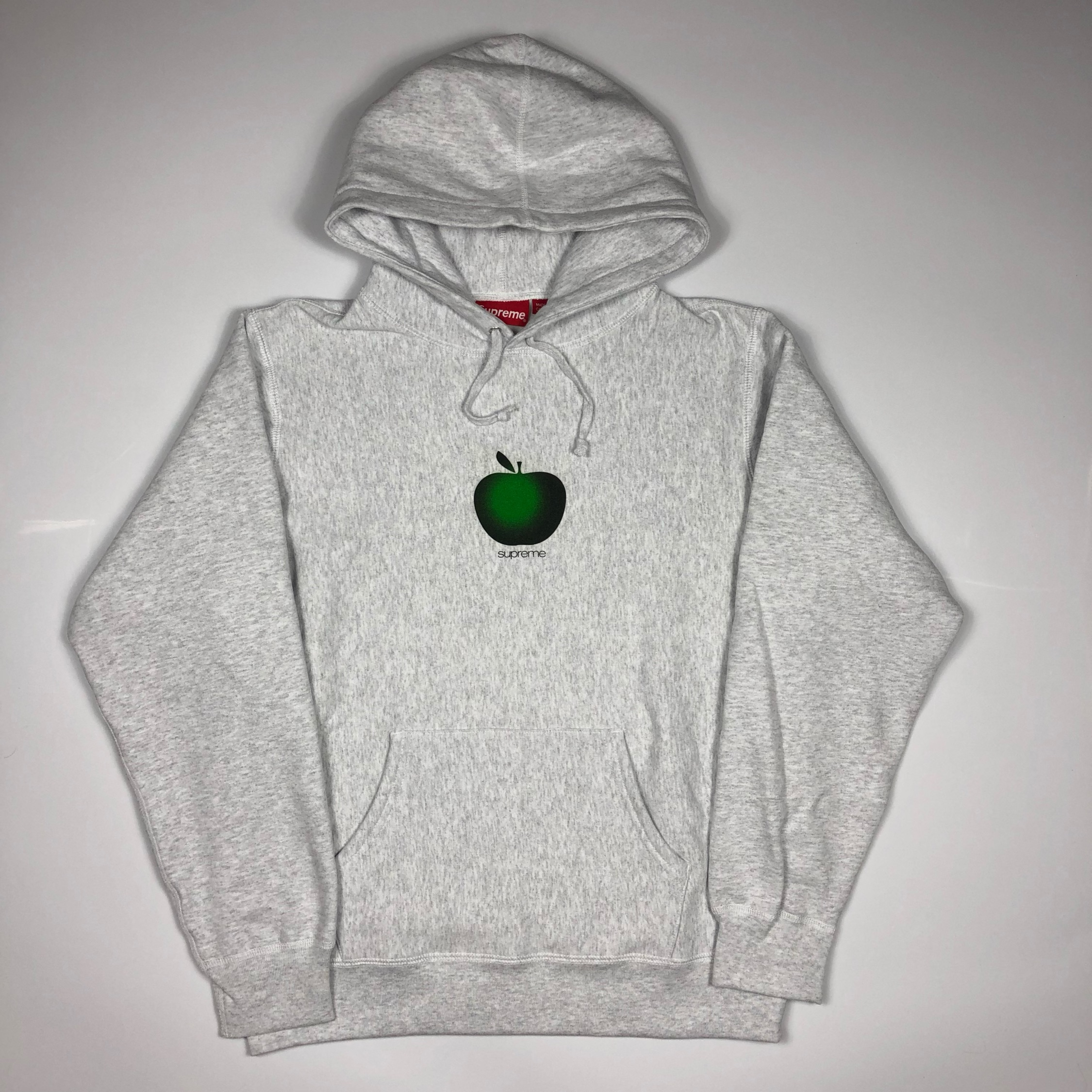 Supreme Apple Logo Hoodie Medium New