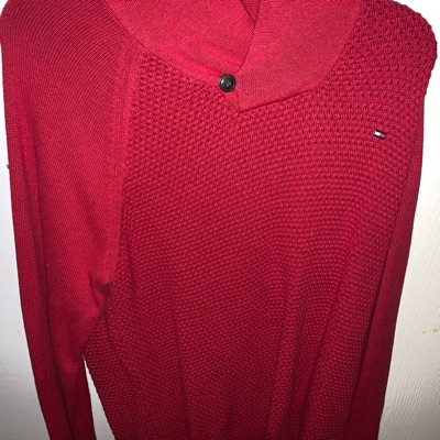Tommy Holdover Knit Top Rare