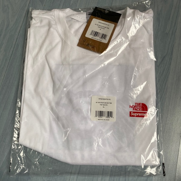 Supreme The North Face White Tee Xl