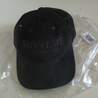 SS20 Supreme Suede Leather 6-Panel