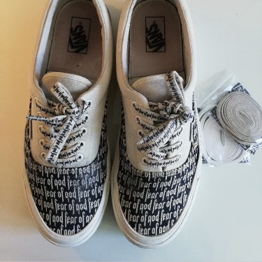 Fear Of God Vans Marshmallow