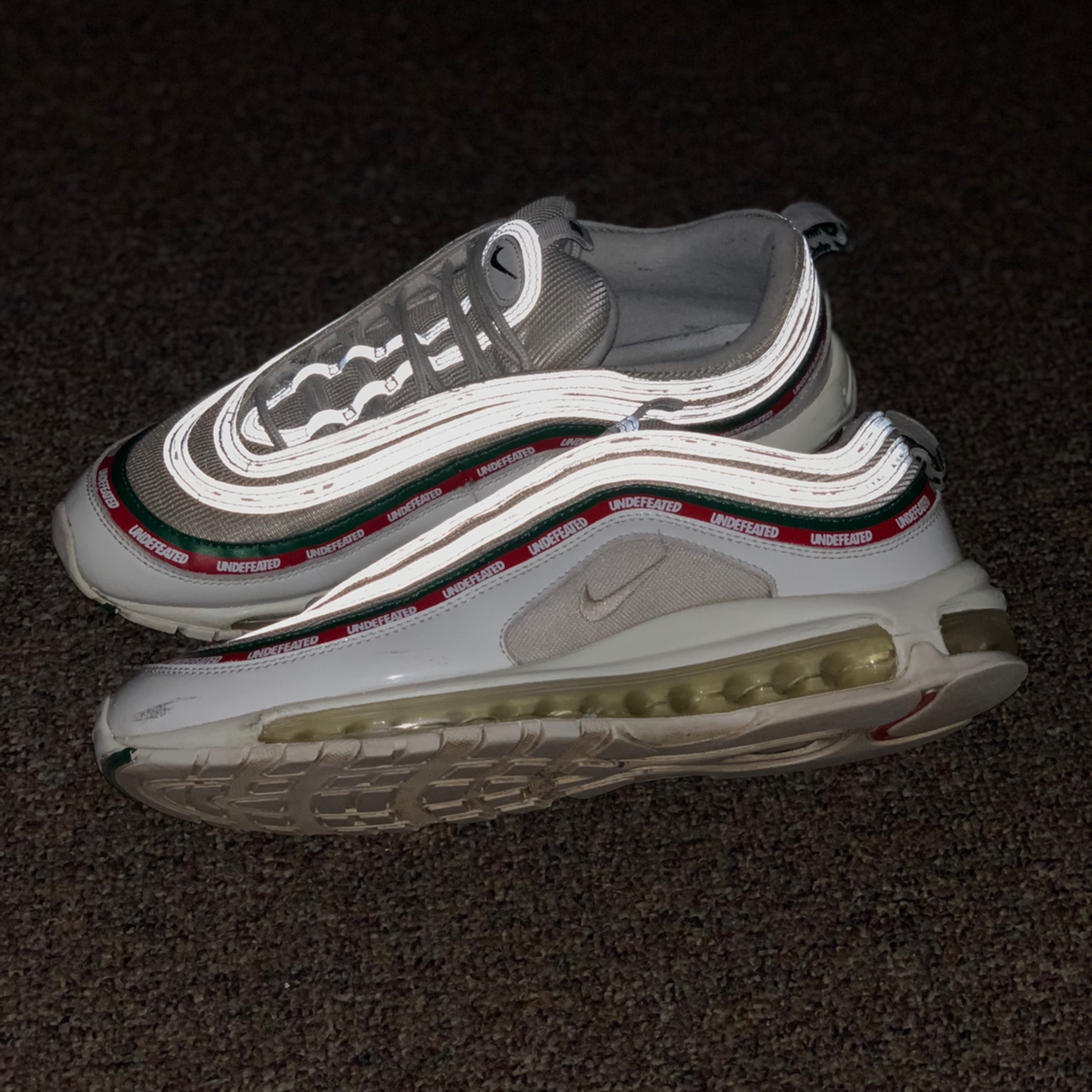 Nike Air Max 97 Undefeated White Size 11