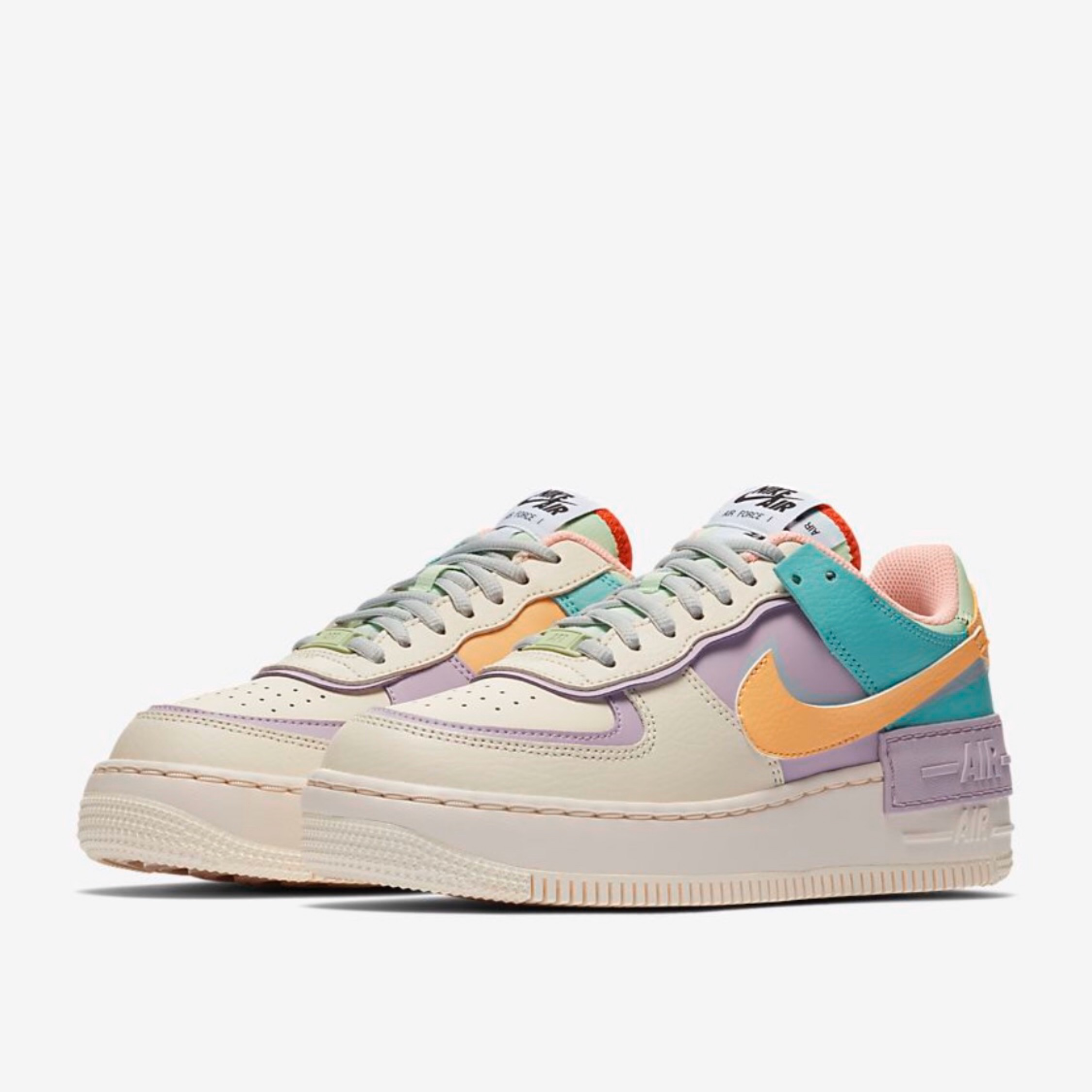 nike air force 1 shadow pale