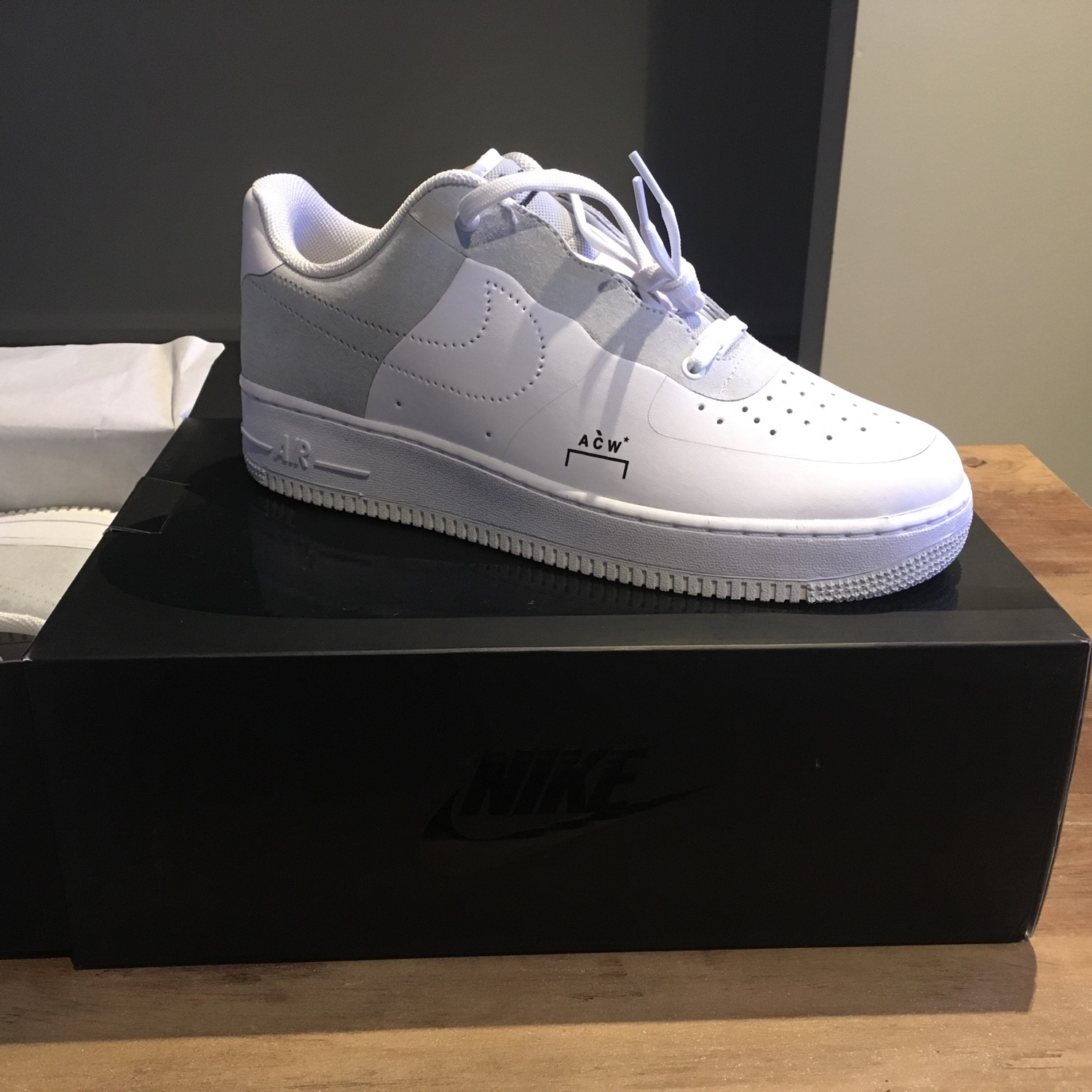 new concept e57b0 93541 Nike X A Cold Wall (Acw) Air Force 1 Low (White)
