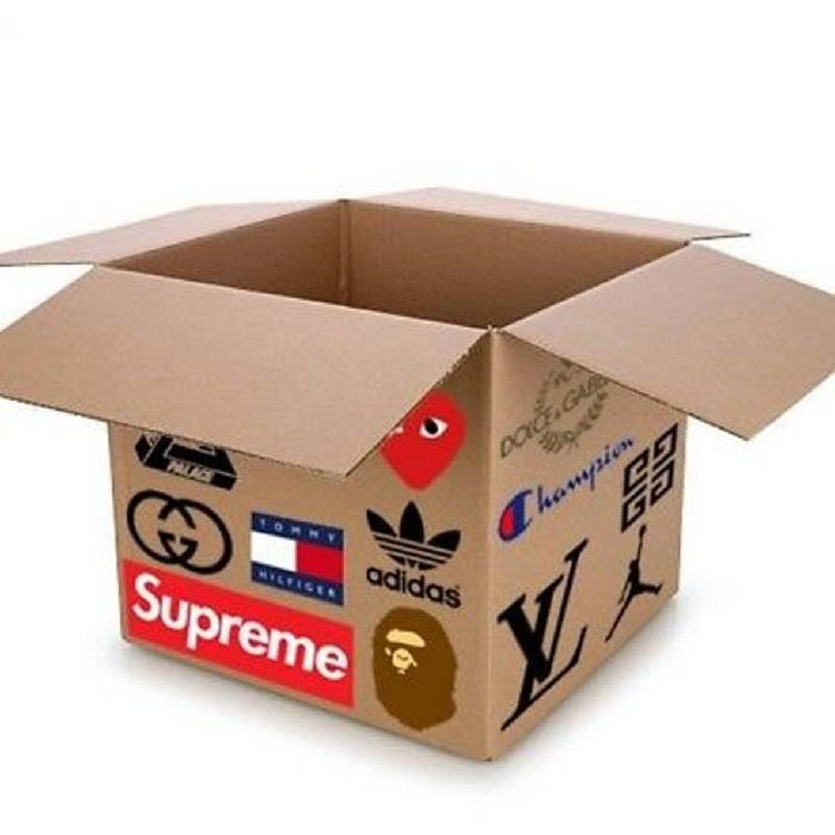 HYPEBEAST MYSTERY BOX A GUARENTEED SUPREMEBAPEYEEZYPALACE ITEM WITH EVERY BOX!! #1