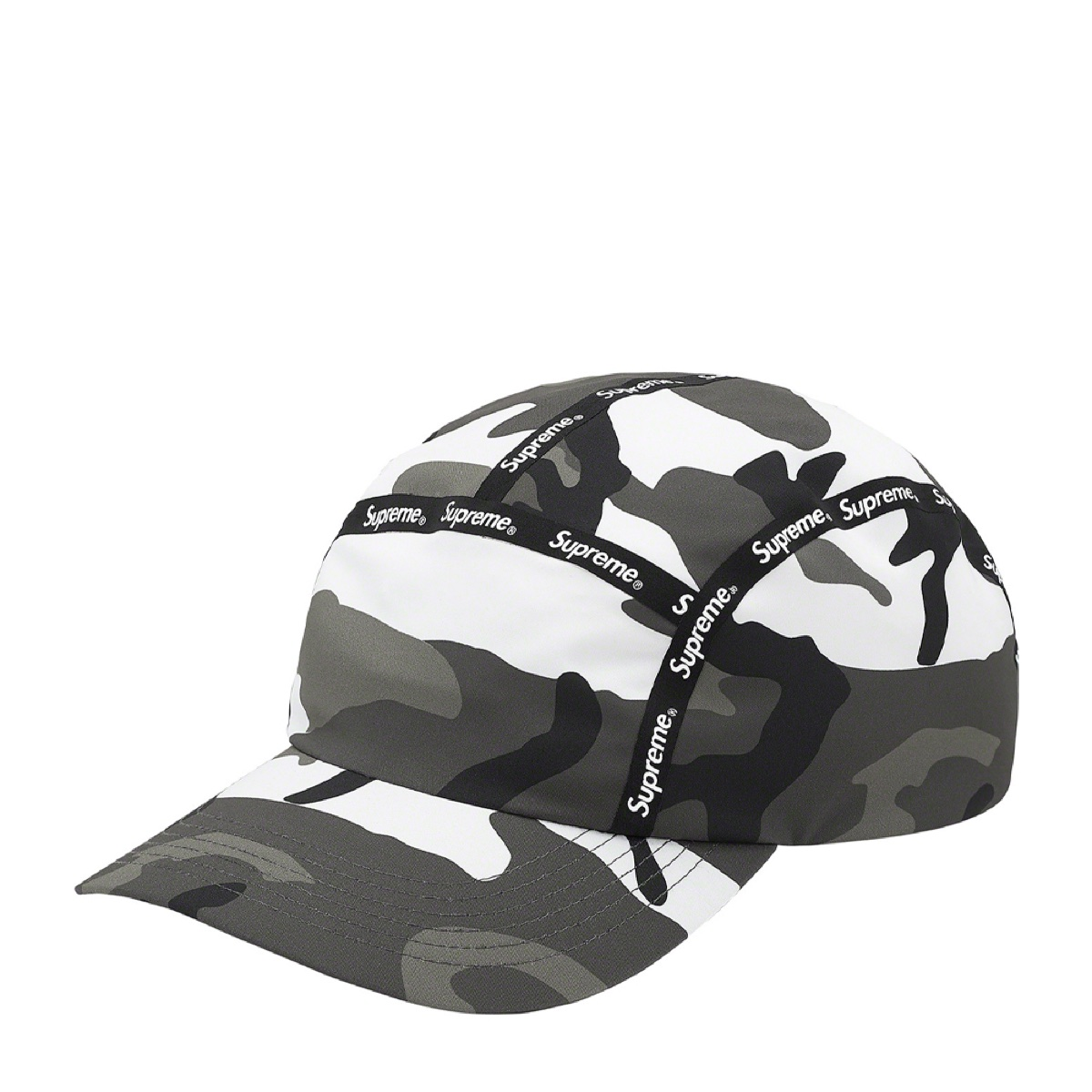 Supreme Taped Seam Windstopper Camp Cap Snow Camo