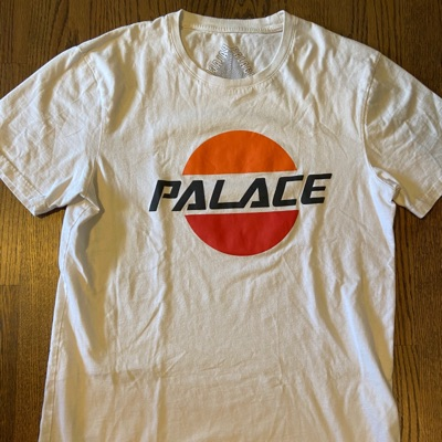 Palace Pal Sol Tee White (Ss17)