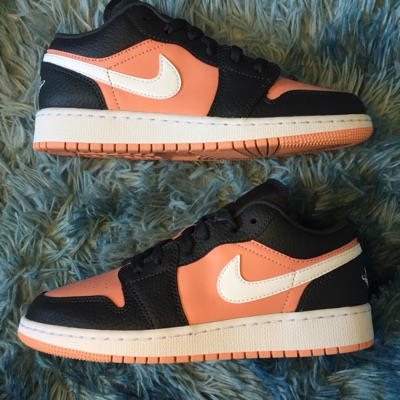 Nike Air Jordan 1 Low Black Pink Quartz