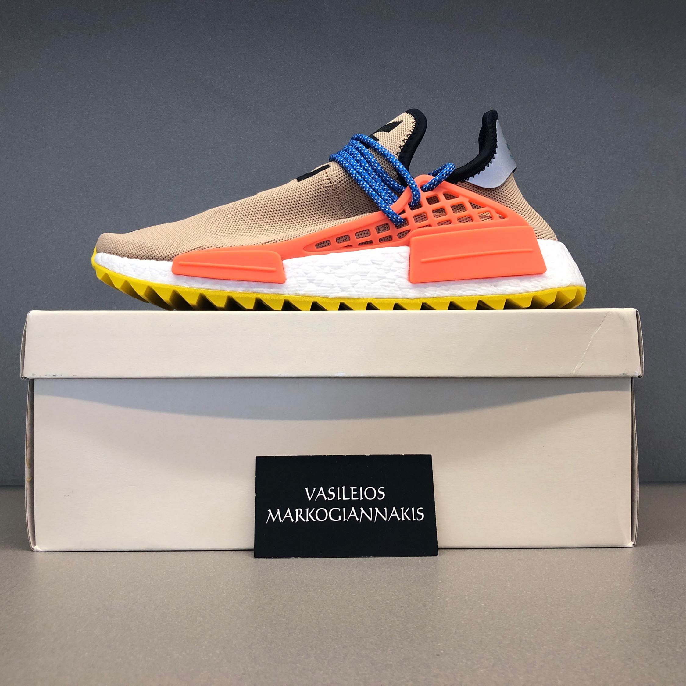 new arrival 313c0 5d8e9 Adidas Pw Human Race Nmd Tr Pharrell Pale Nude