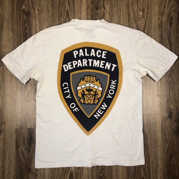 Palace Department Tee White