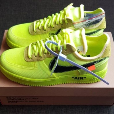 Nike X Off White Air Froce 1 Volt