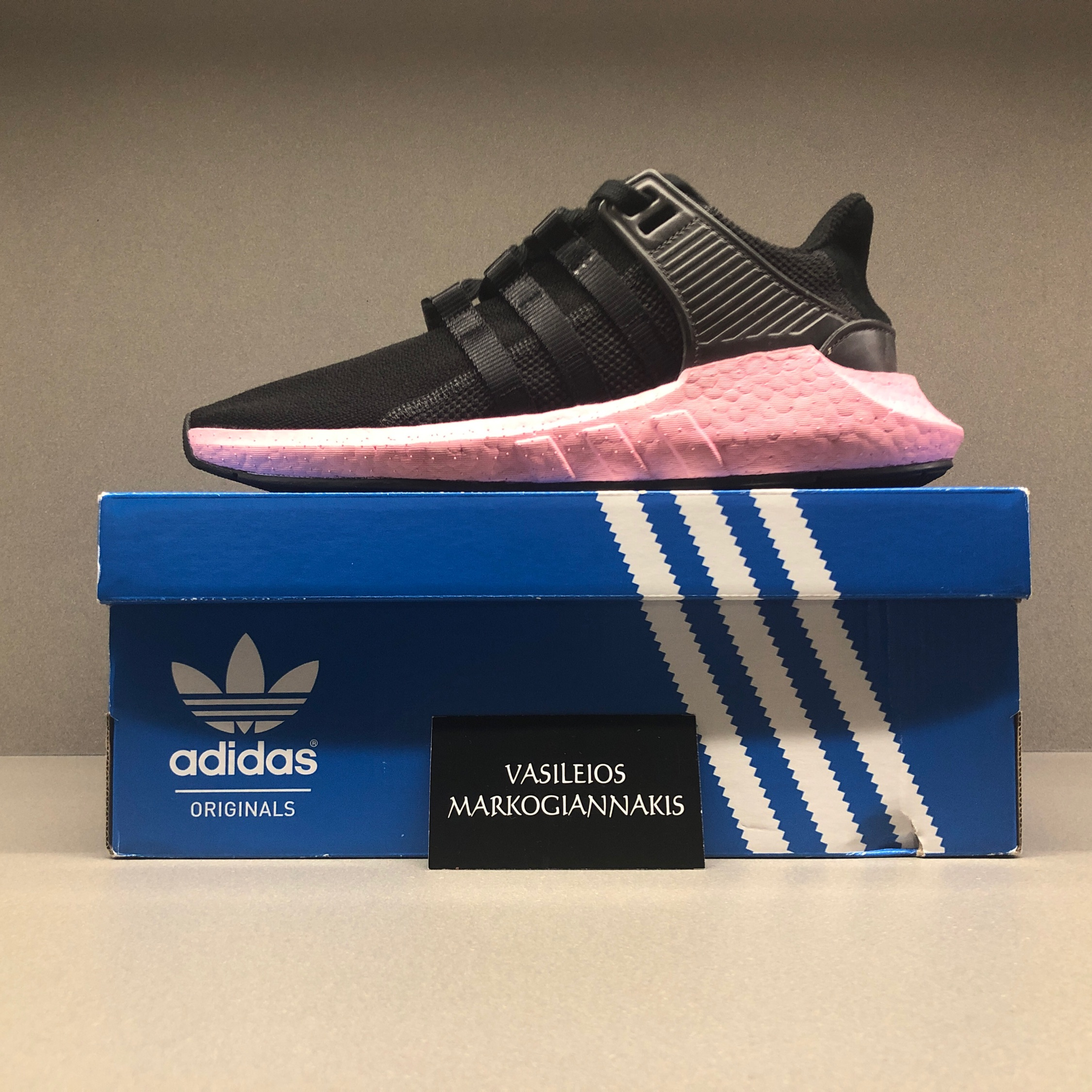 check out 04aa8 e03d6 Adidas Eqt Support 93/17 Milled Leather Custom