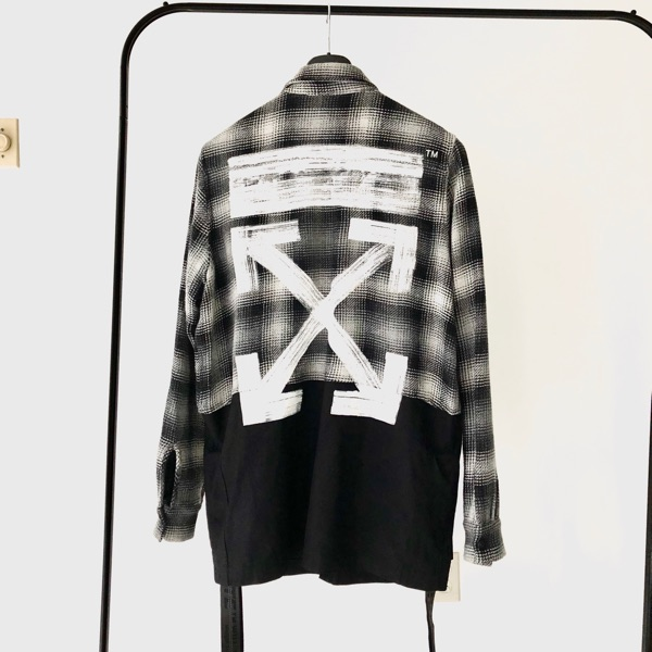 Very Rare Runway Plaid Check Flannel Shirt
