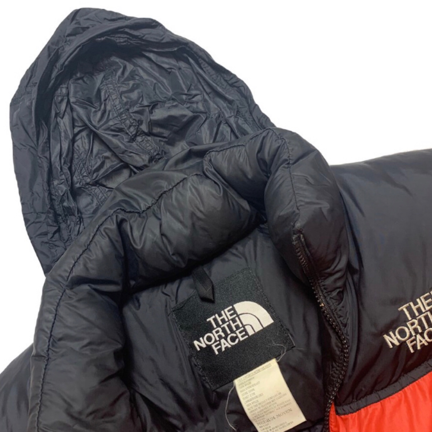 Red North Face Puffer Jacket - Vintage Nuptse