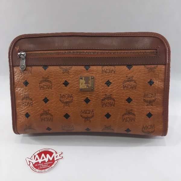 Authentic Vintage Clucth Mcm Bag