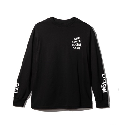 Assc Black Get Weird Long Sleeve Shirt