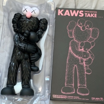 Kaws Take Figure Black