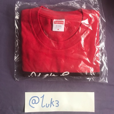 Supreme Mary J Blige T-Shirt Red