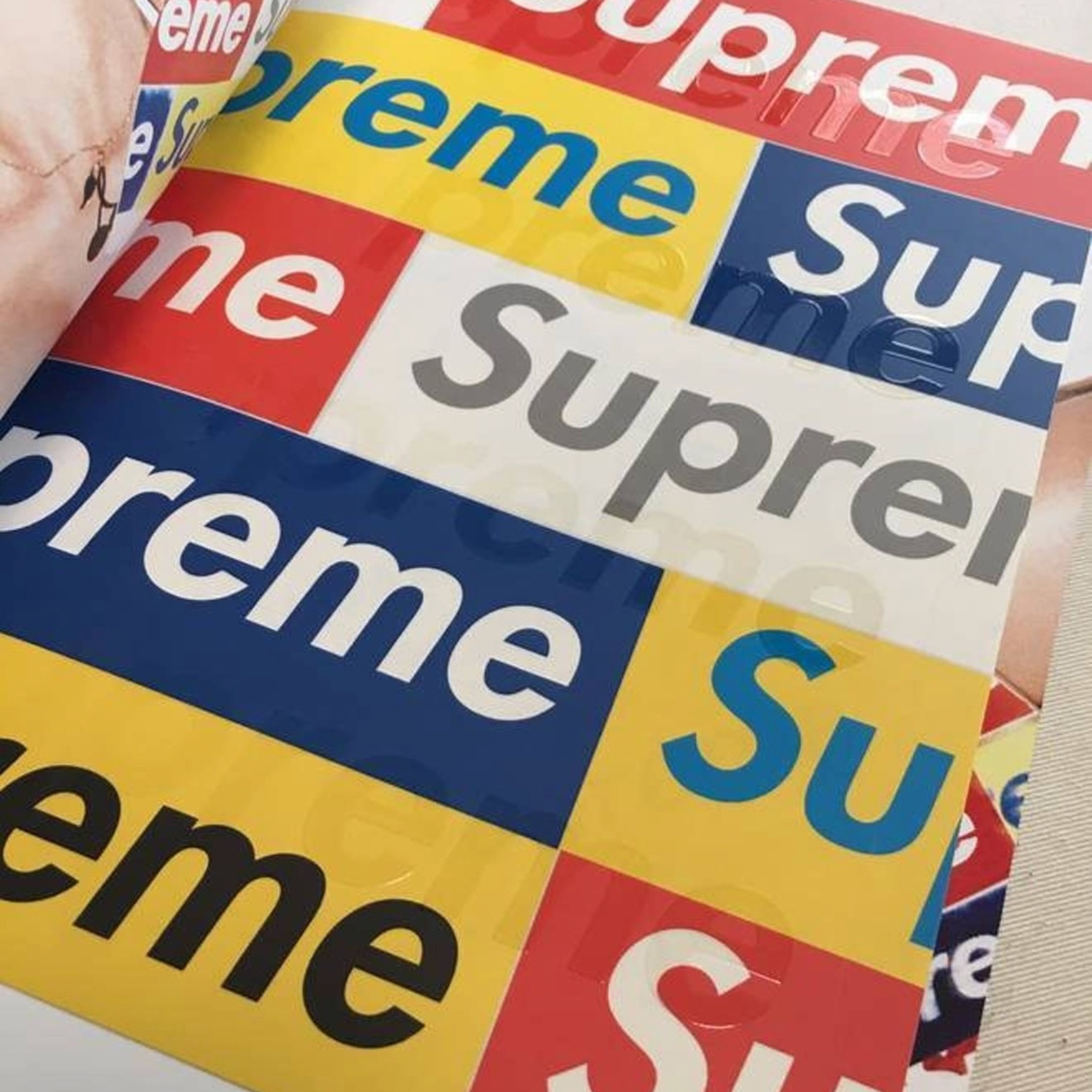 Supreme Book Volume 3 + Box Logo Stickers