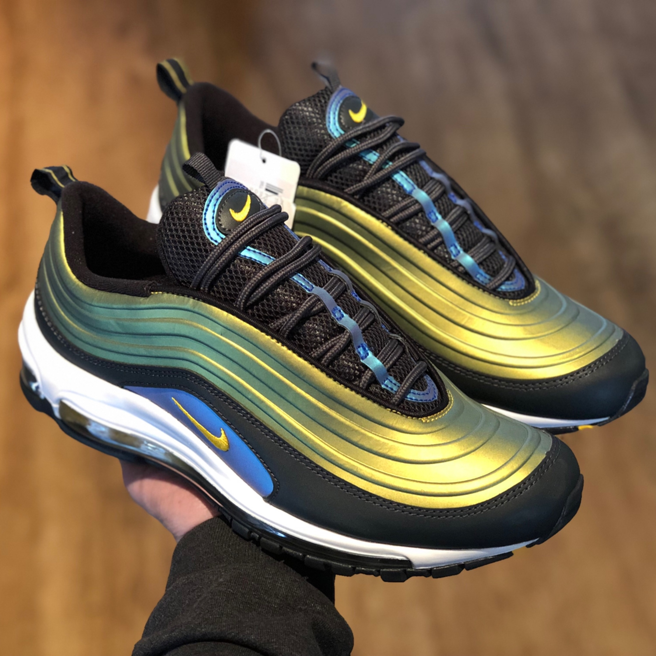 Details about Nike Air Max 97 Ultra 17 SI Vented AO2326 100 White UK 8 EU 42.5 27.5cm US 10.5