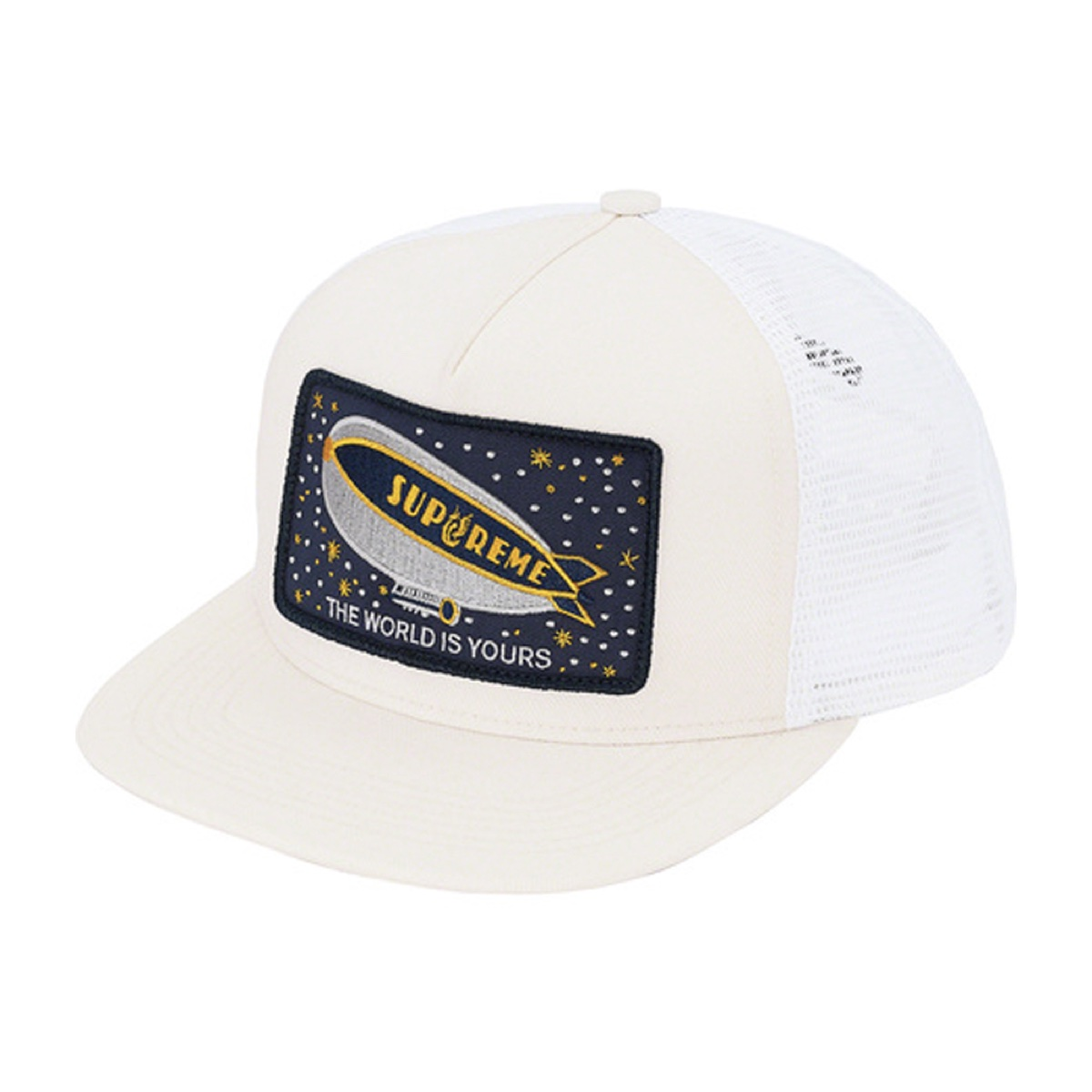 Supreme Blimp Mesh Back 5-Panel White