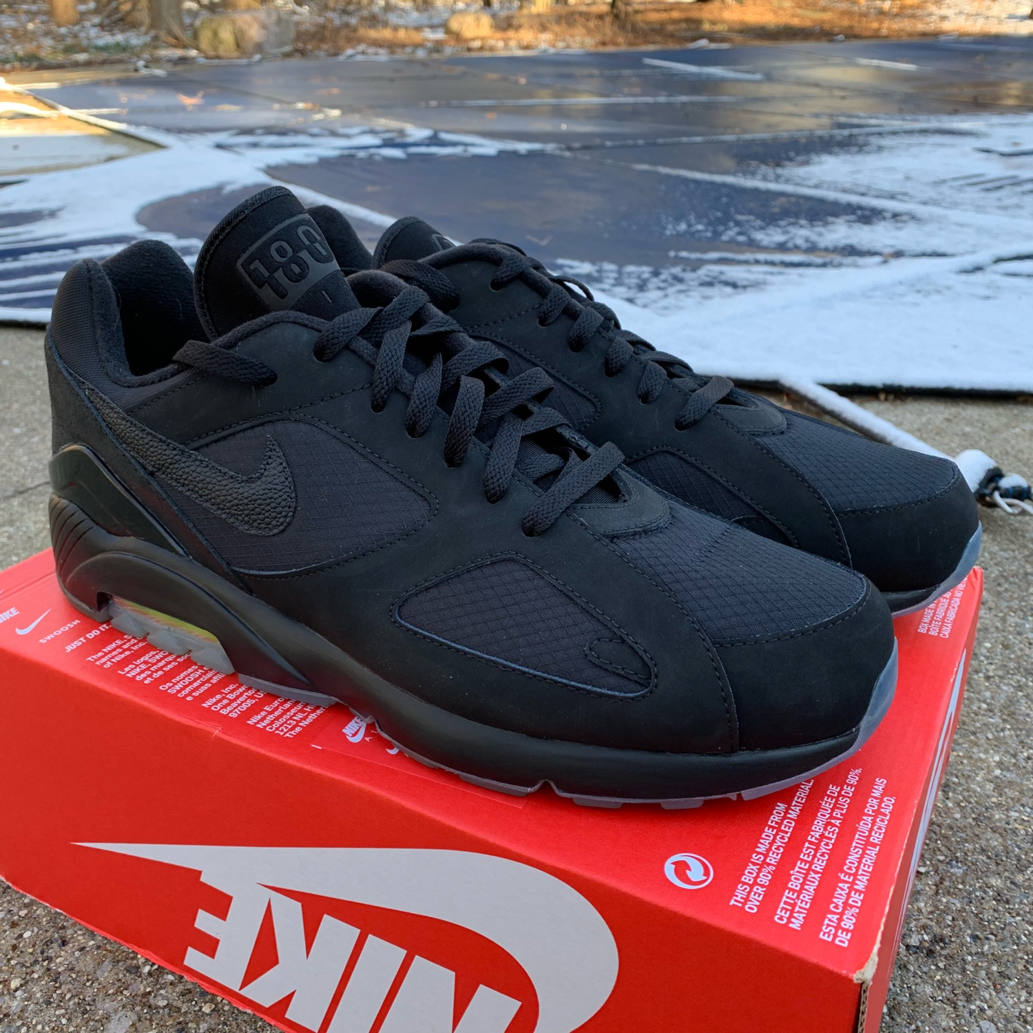 "date de sortie 75082 26dfa Nike Air Max 180 ""Night Ops"""