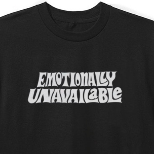 Emotionally Unavailable Retro Shirt Xxl (Sold Out)