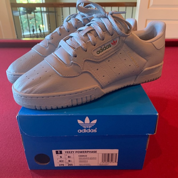 Grey Yeezy Powerphase Calabasas