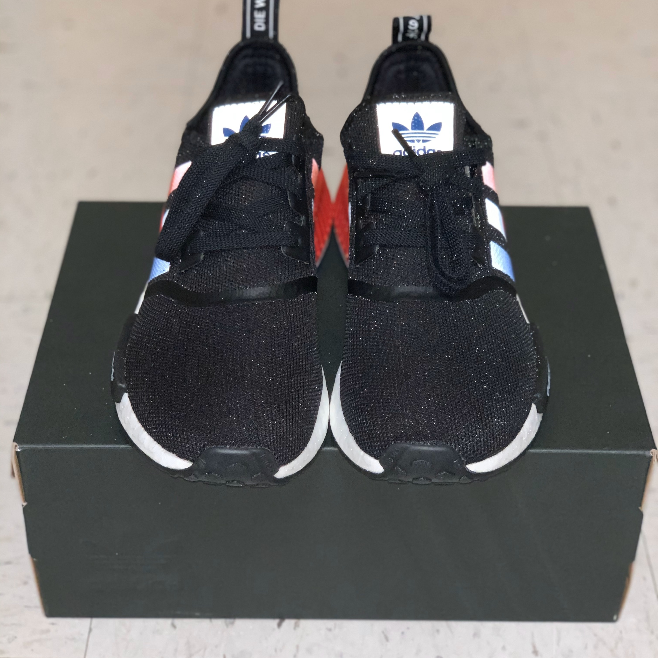 new photos c153d 28402 Adidas Nmd R1 Tri-Color