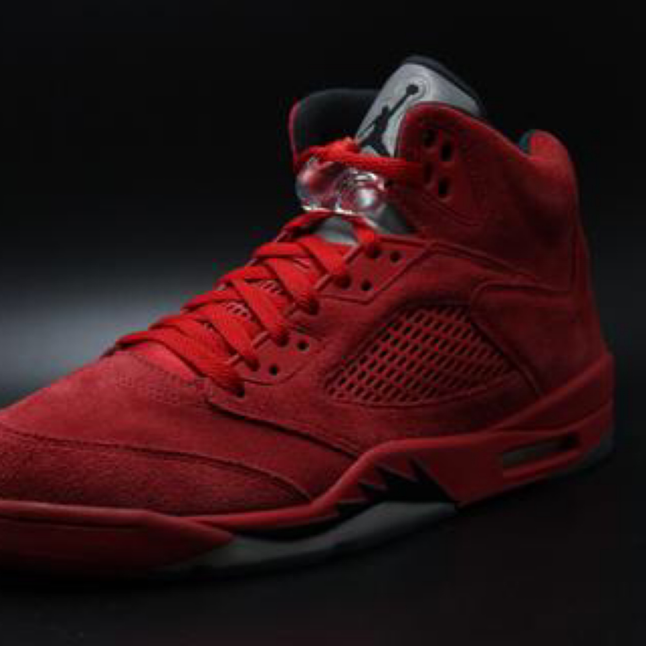 outlet store fc6bf ff6e1 Jordan 5 Red Suede
