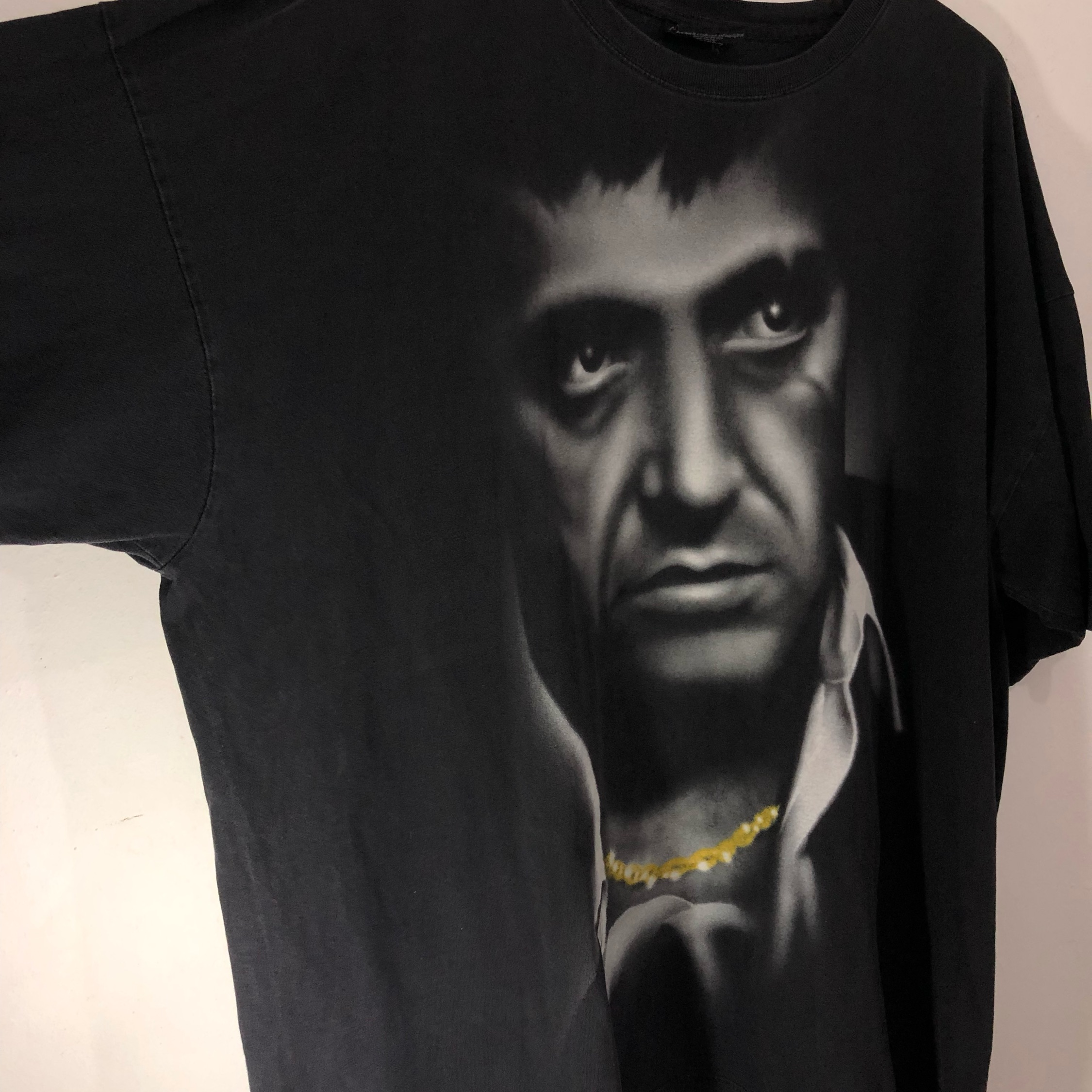 Over Size Universal Studios Scarface Movie Tees