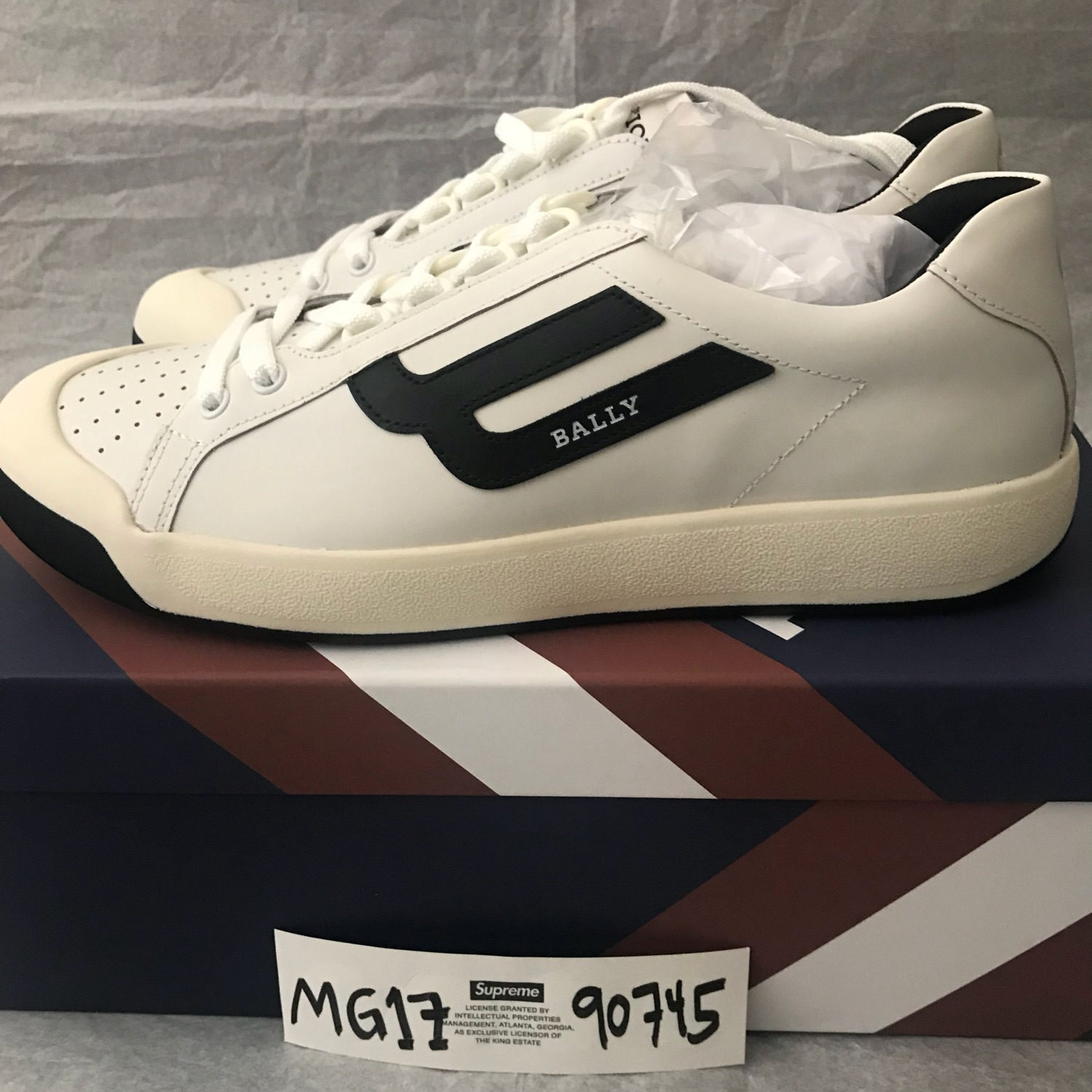 Bally New Competition Retro Sneakers