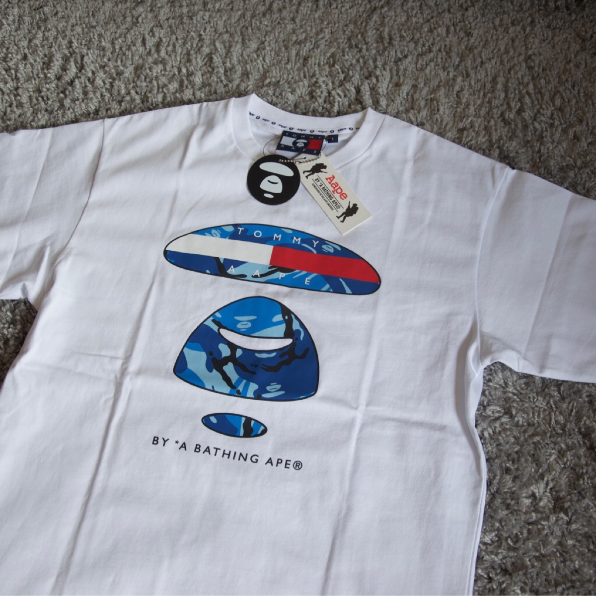 Tommy x Aape T-shirt