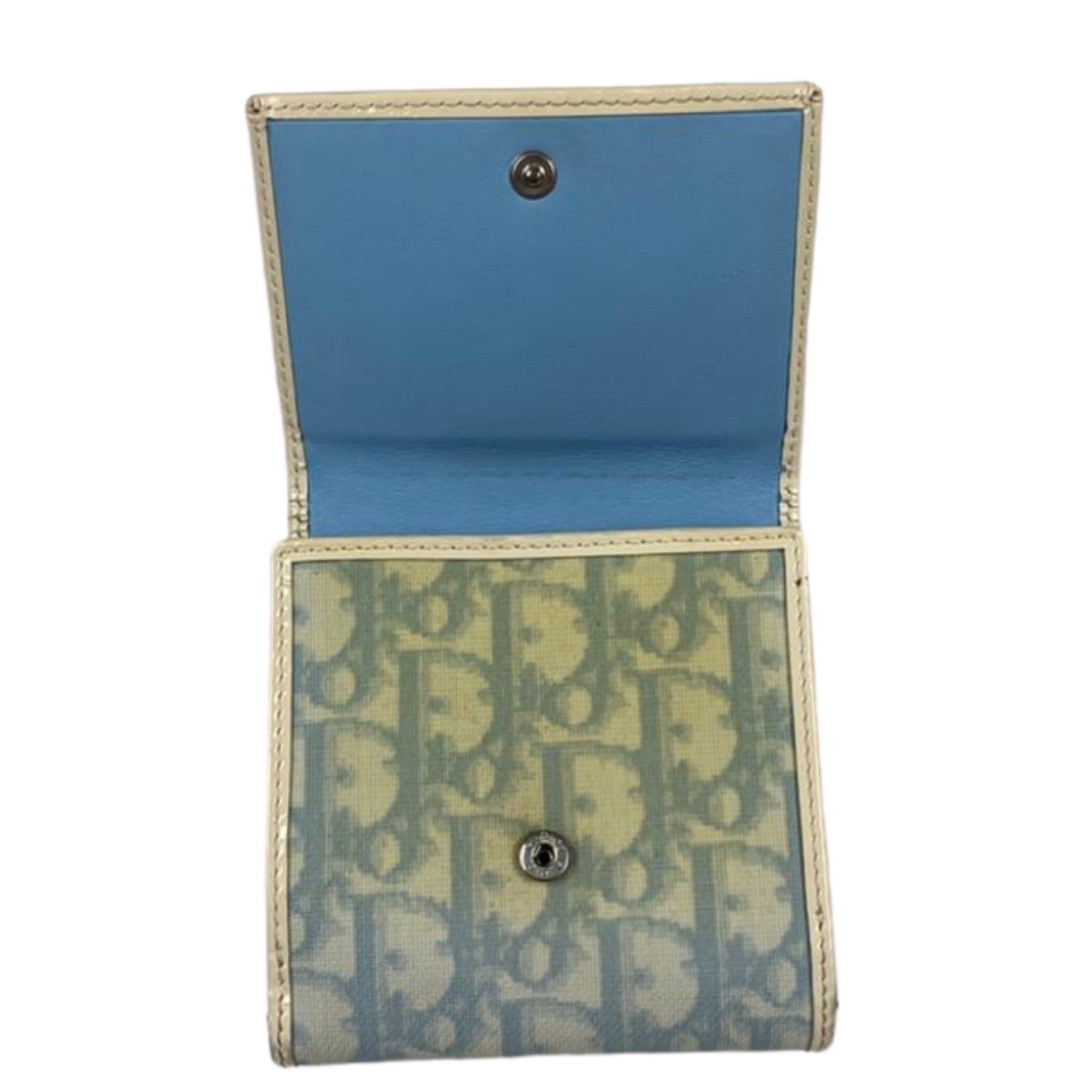 Christian Dior Baby Blue Wallet