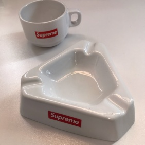 Fw15 Supreme Ashtray + Fw14 Supreme Espresso Cup