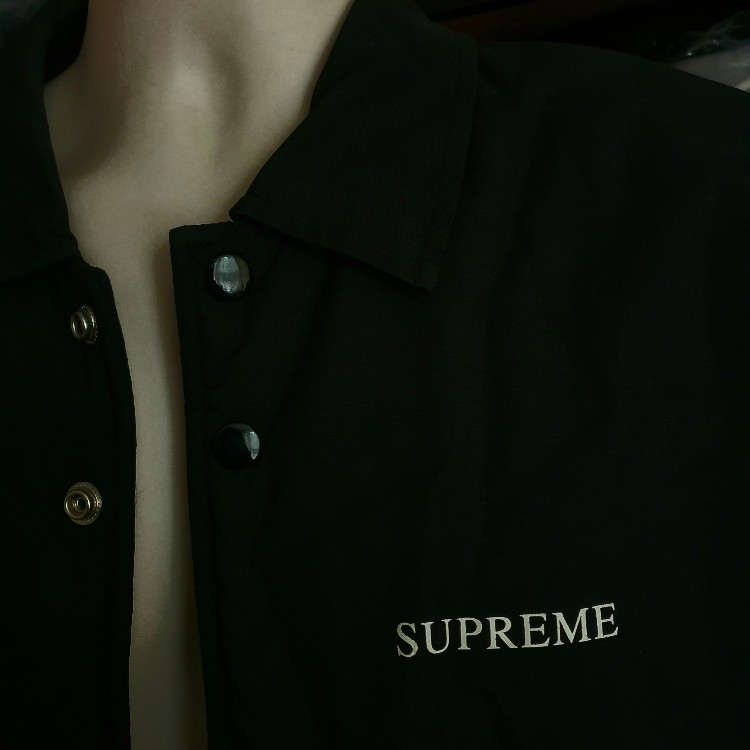 FW13 Supreme Bruce Lee coaches jacket