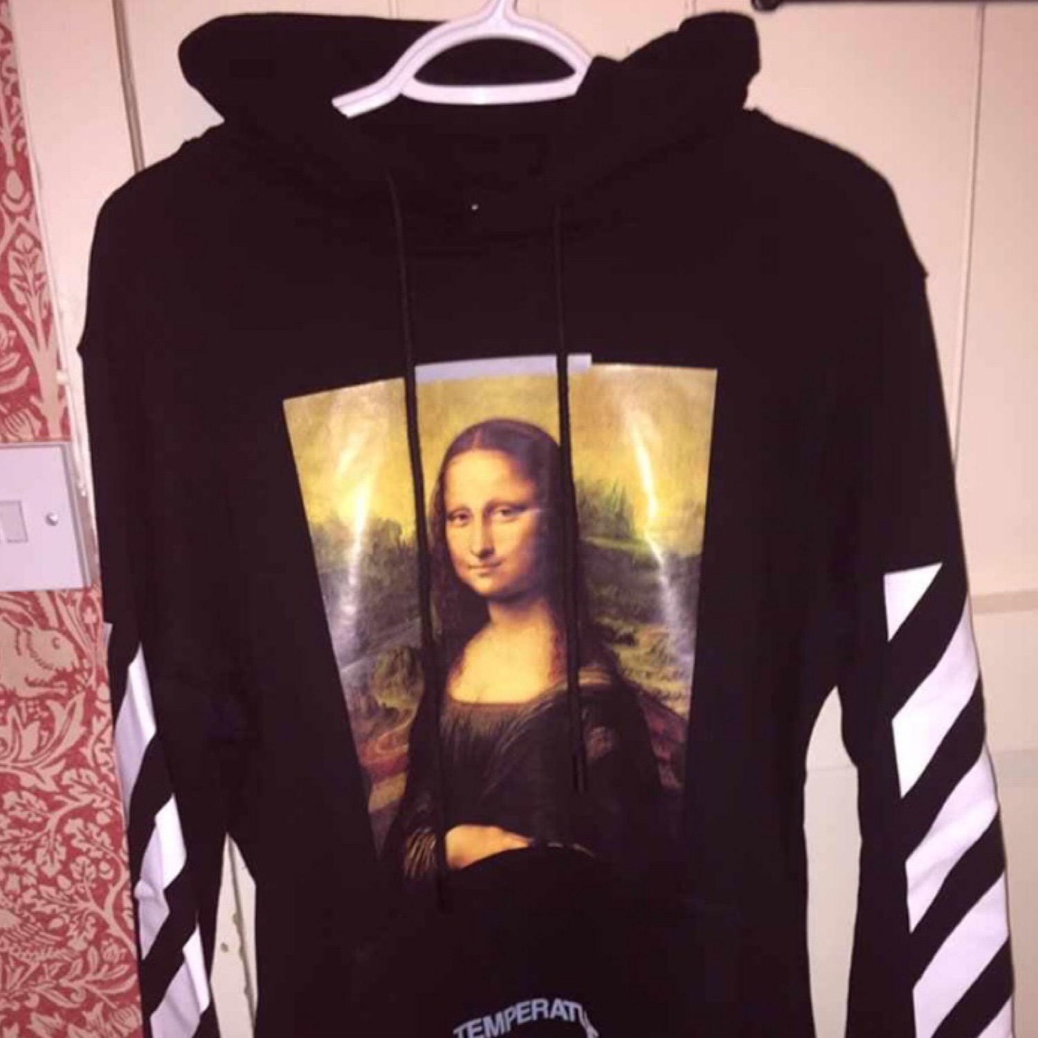Off White Christmas Hoodie.Off White Mona Lisa Jumper