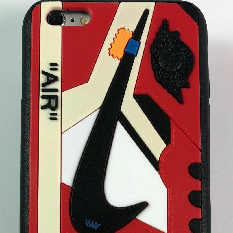 huge discount f47c9 1b98a Off White Air Jordan 1 Chicago iPhone Case
